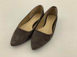 【譲ります】スエードペッタンコ靴(22㎝)