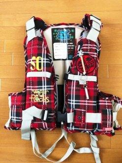 【誰でも】ライフジャケット(キッズ用Mサイズ)